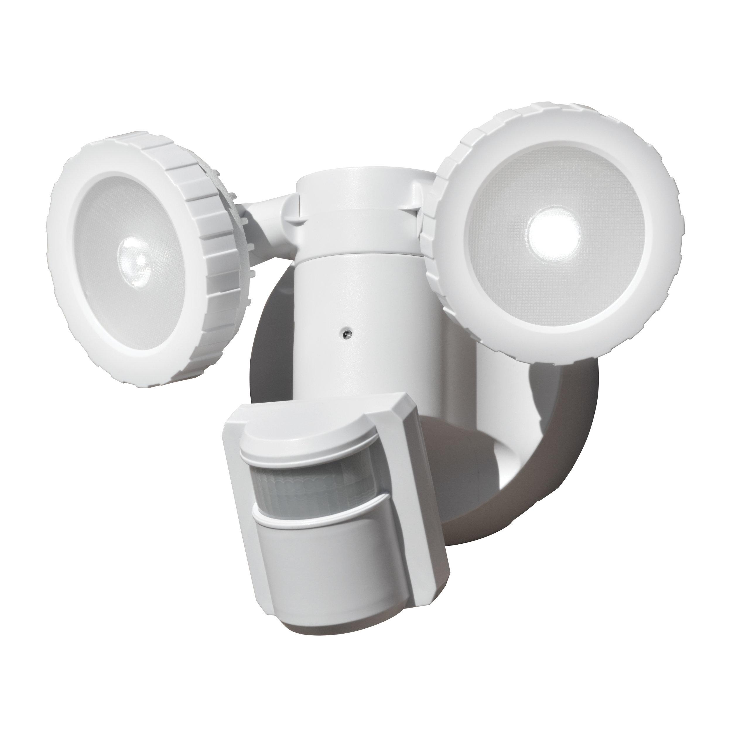 NL-DSBT Solar Security Light - Main View