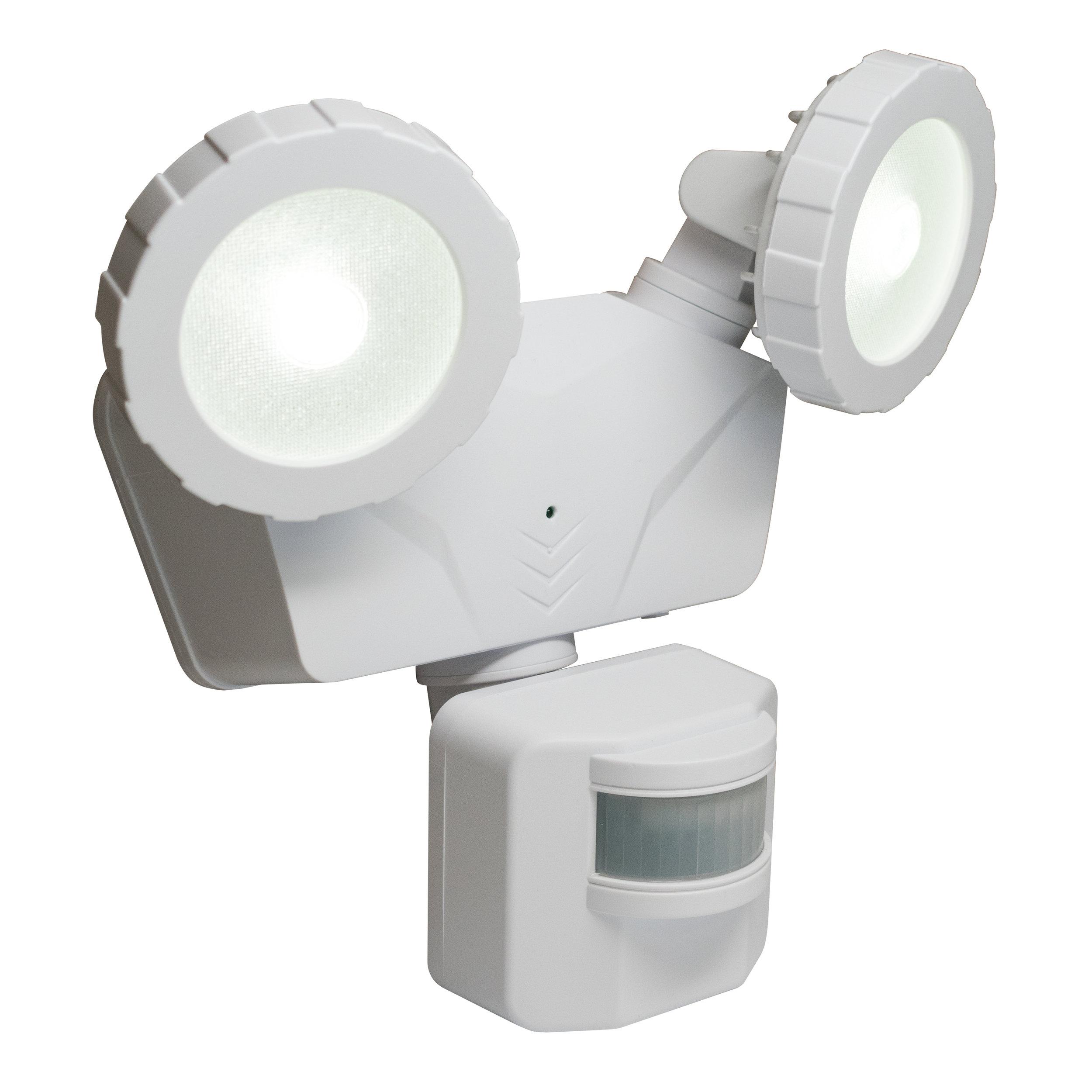 Novolink NL-DSW1 Solar Security Light, Isometric