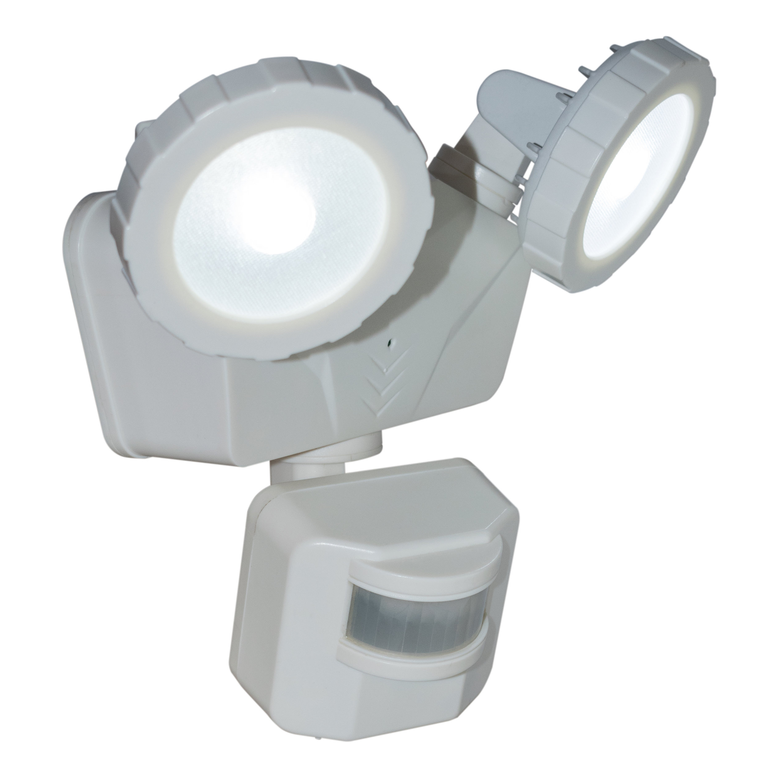 Novolink NL-DSW2 Solar Security Light, Isometric with Light ON