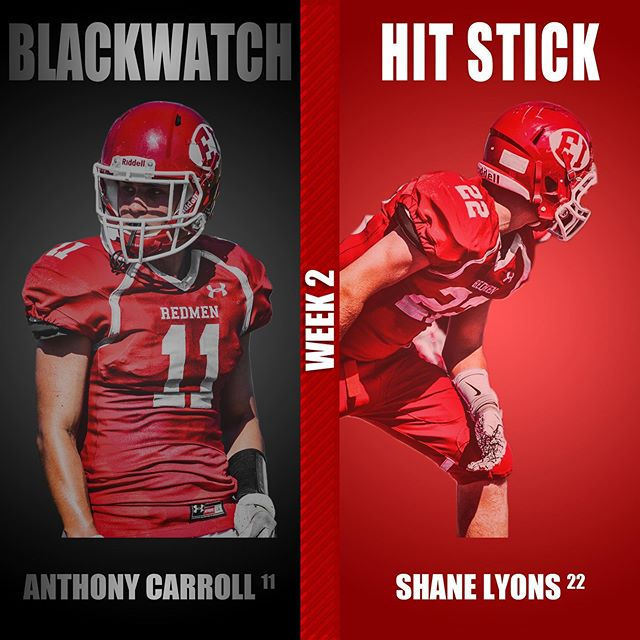 How many likes can our BLACKWATCH and HIT STICK players of the game get?? #blackwatch #hitstick #redmen #biggerhearts