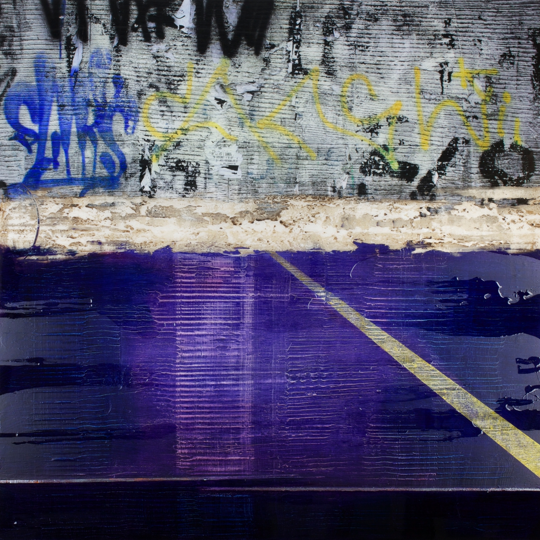 Graffiti Blue