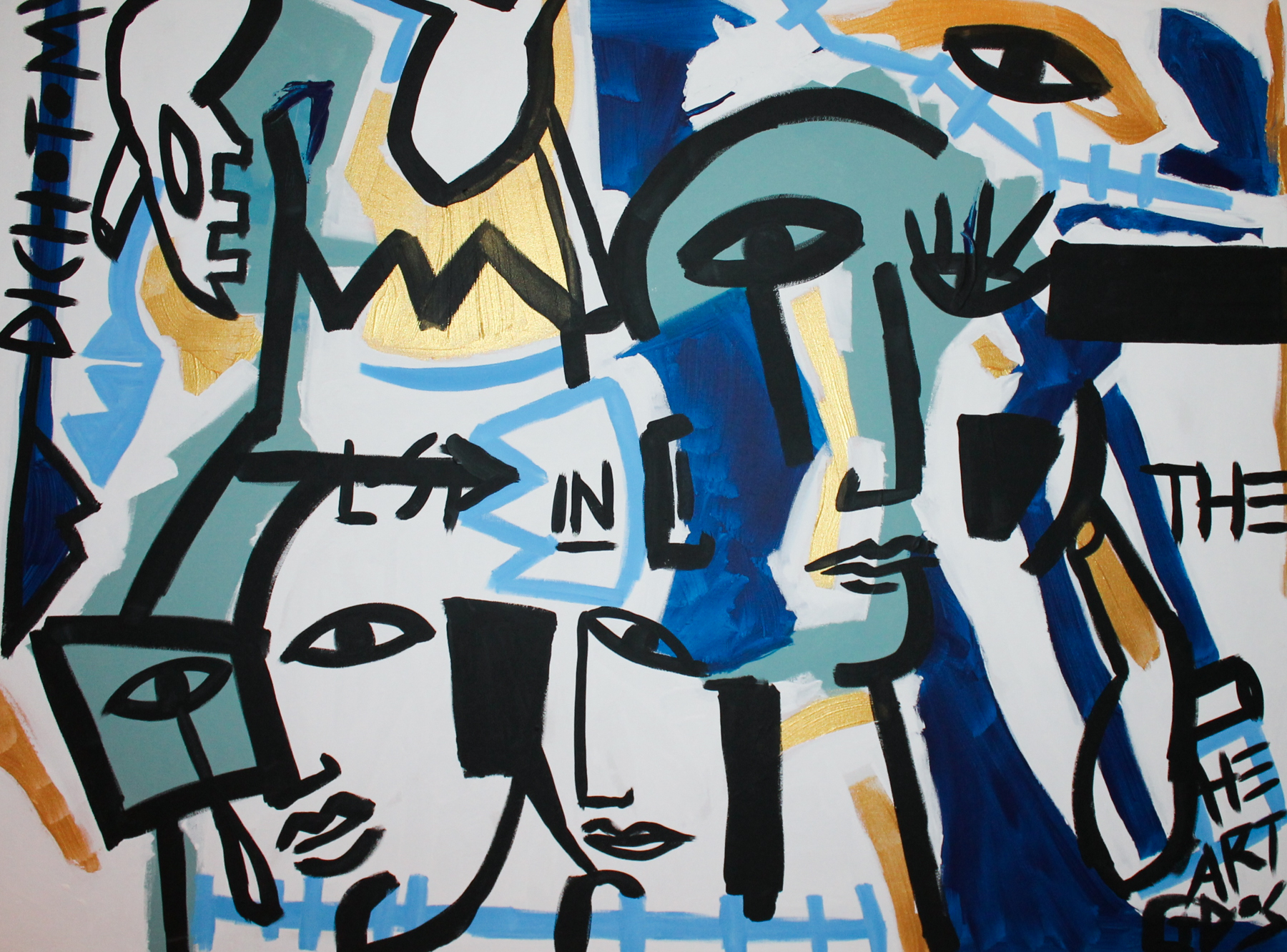 Dichotomy  by Paula Gasparini-Santo