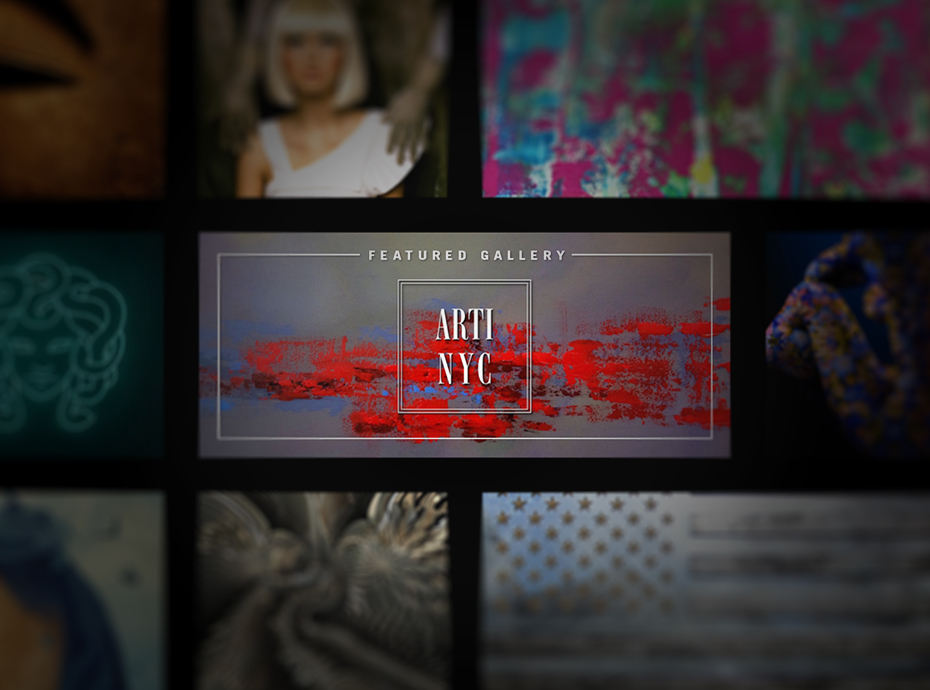 New York art gallery services ARTI.NYC hosted collection on Loupe home screen