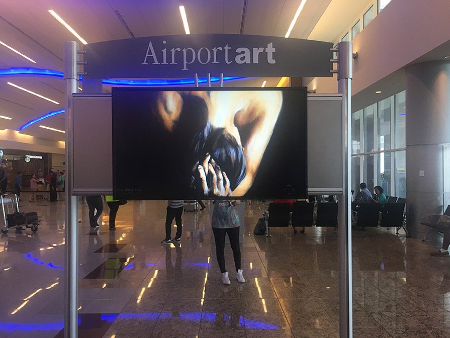 Loupe installation, Hartsfield-Jackson Airport - International Terminal