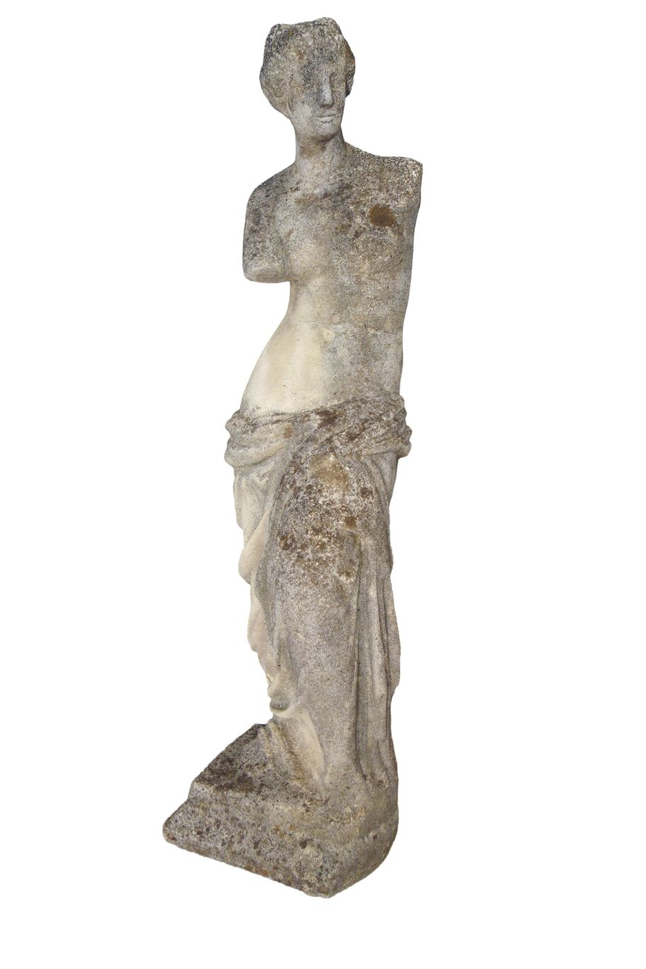 Antique Italian Classic Venus de Milo Sculpture from Lake Como