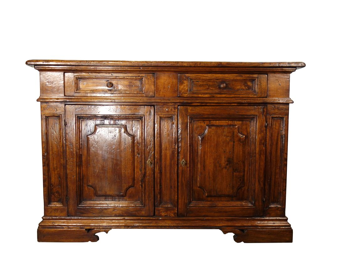 FIRENZE Old Poplar - Bellini's Mediterranean Style Collection: Authentic Italian Antique Reproduction Tuscan Credenza