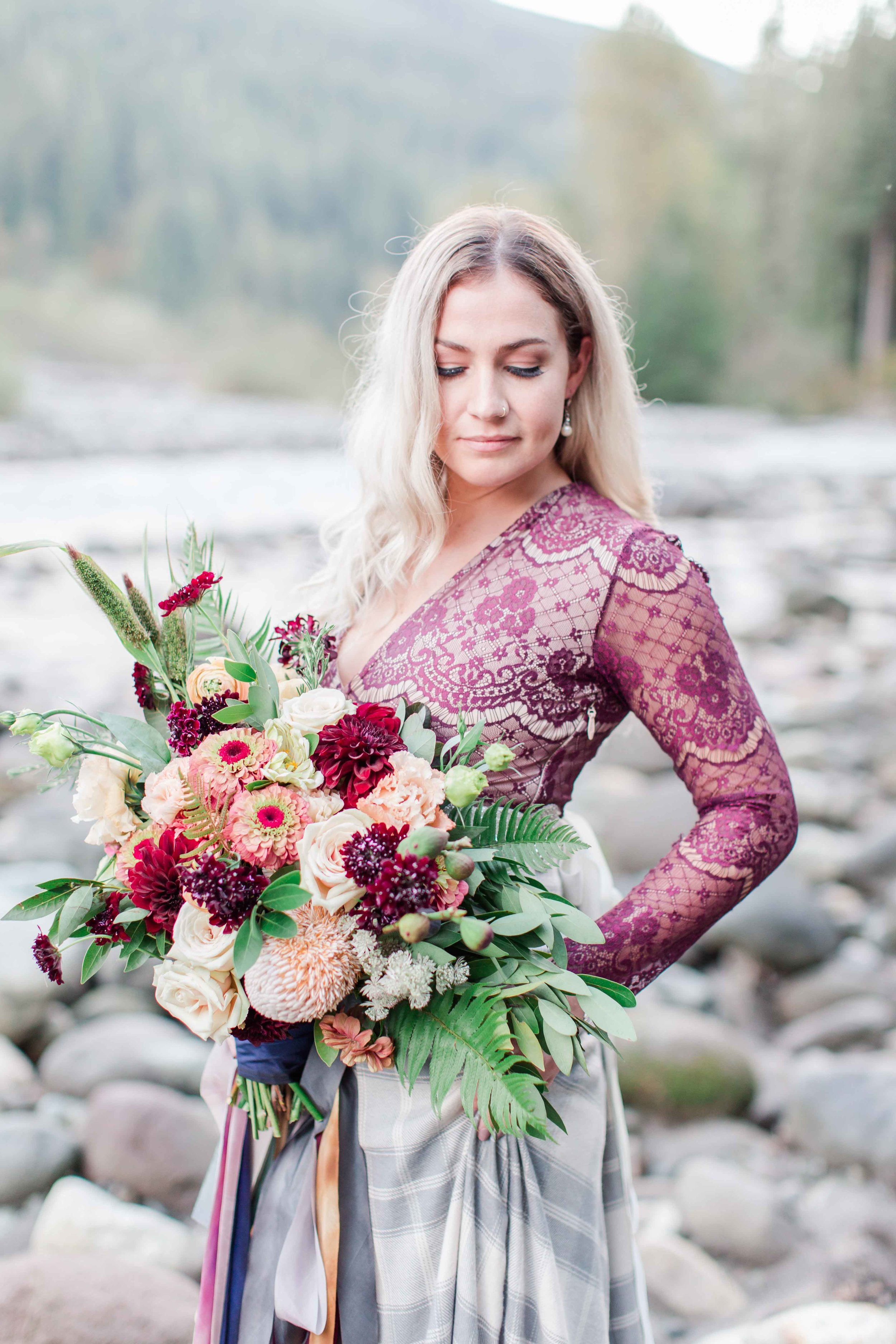 Coordination by  Love & Lemons Events;  Flowers by  Gather Design Company