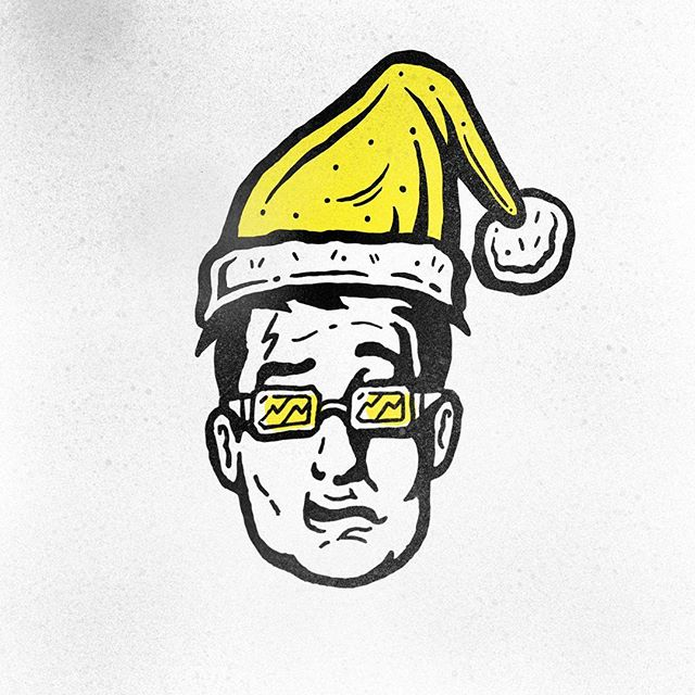 Hope everyone's having a nice Christmas! . . #merrychristmas #christmastime #christmas #happyholidays #joetillstudios #mascot #retroad #design #illustration #strategy  #invention #brainstorming #dedicated #designagency #mascotdesign #sportsart #illustrations #buildyourbrand #localbusiness #sportscreatives #startup #freelance #youngtalent #art #inking #linework #freelance #illustrator #retro #vintage