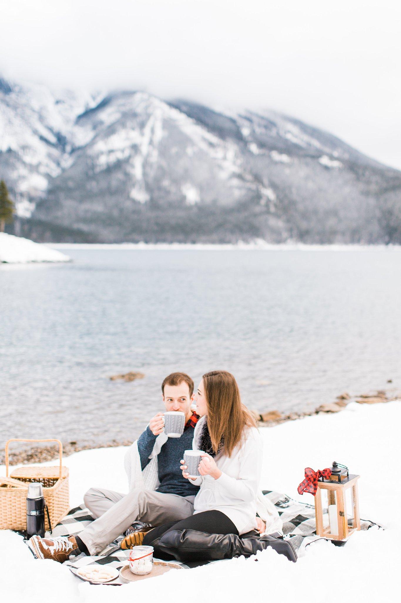 Lake Minnewanka Banff Engagement Photographers Wedding Photography