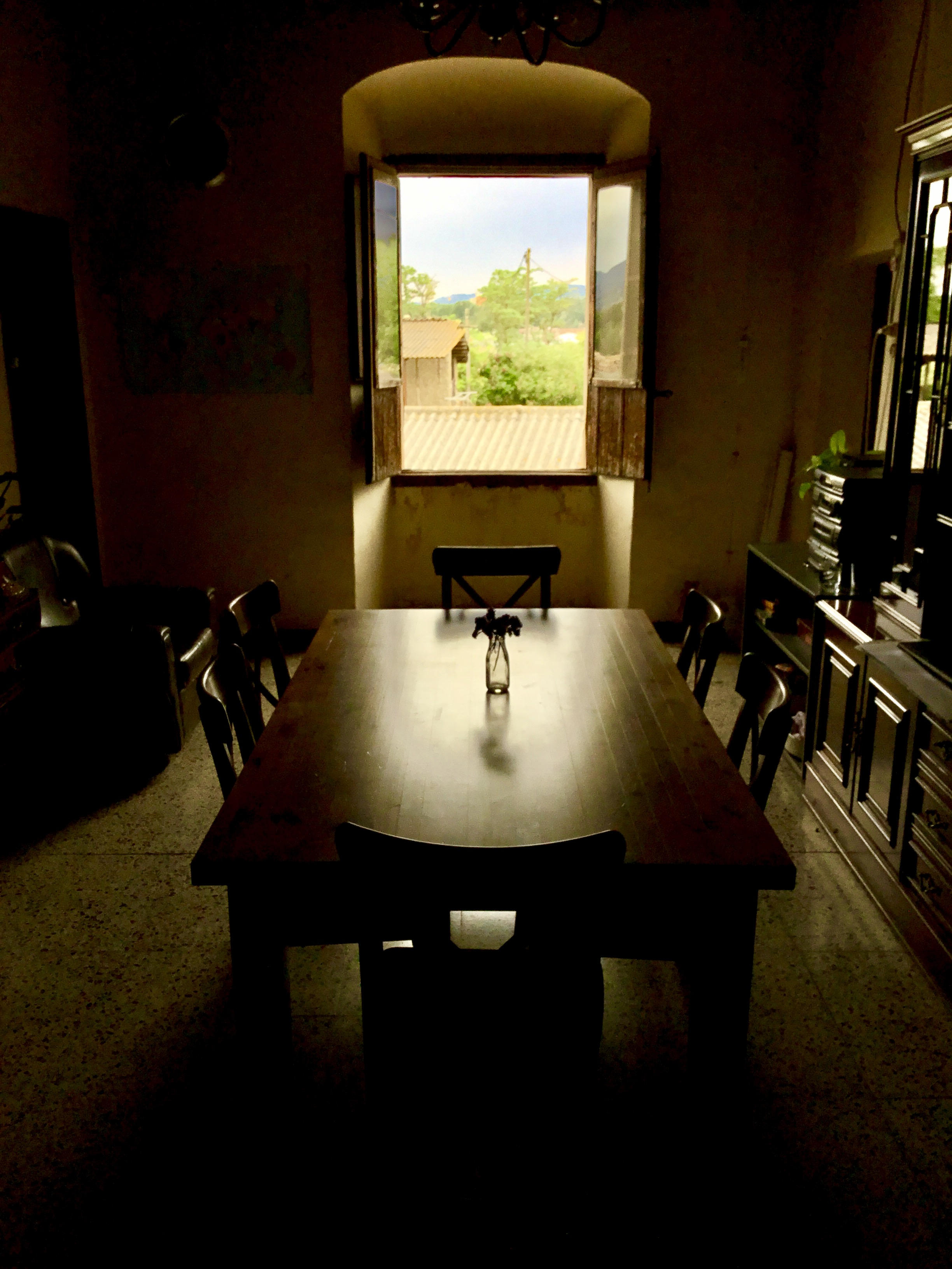 """The Empty Table"" -  Vic, Catalonia, Spain."