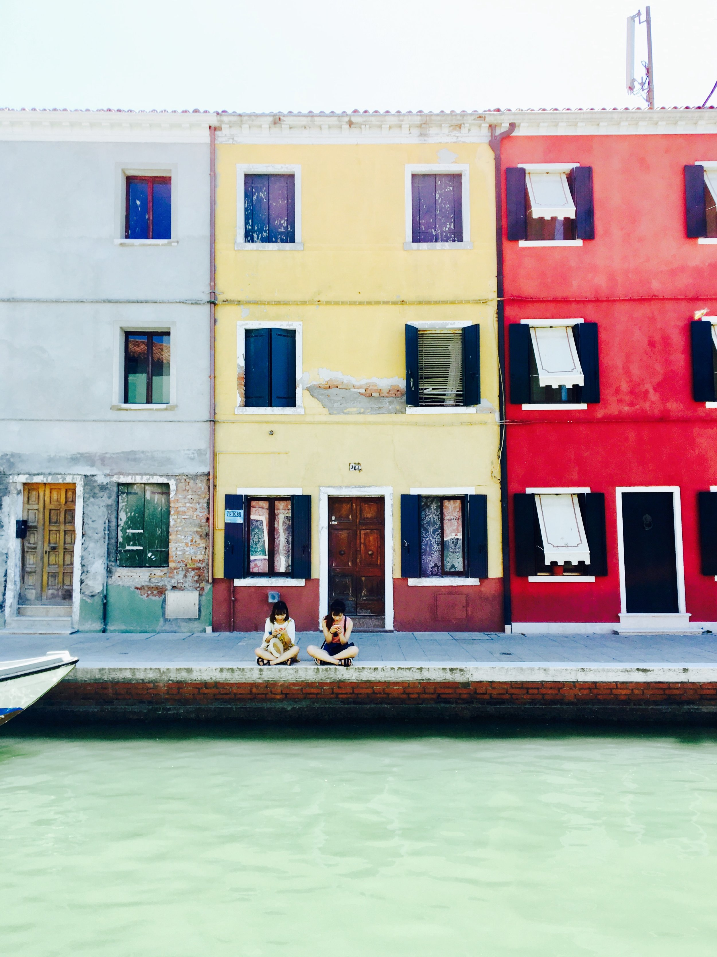 """How We Are The Same; How We Are Different"" —  (Venice, Italy)"