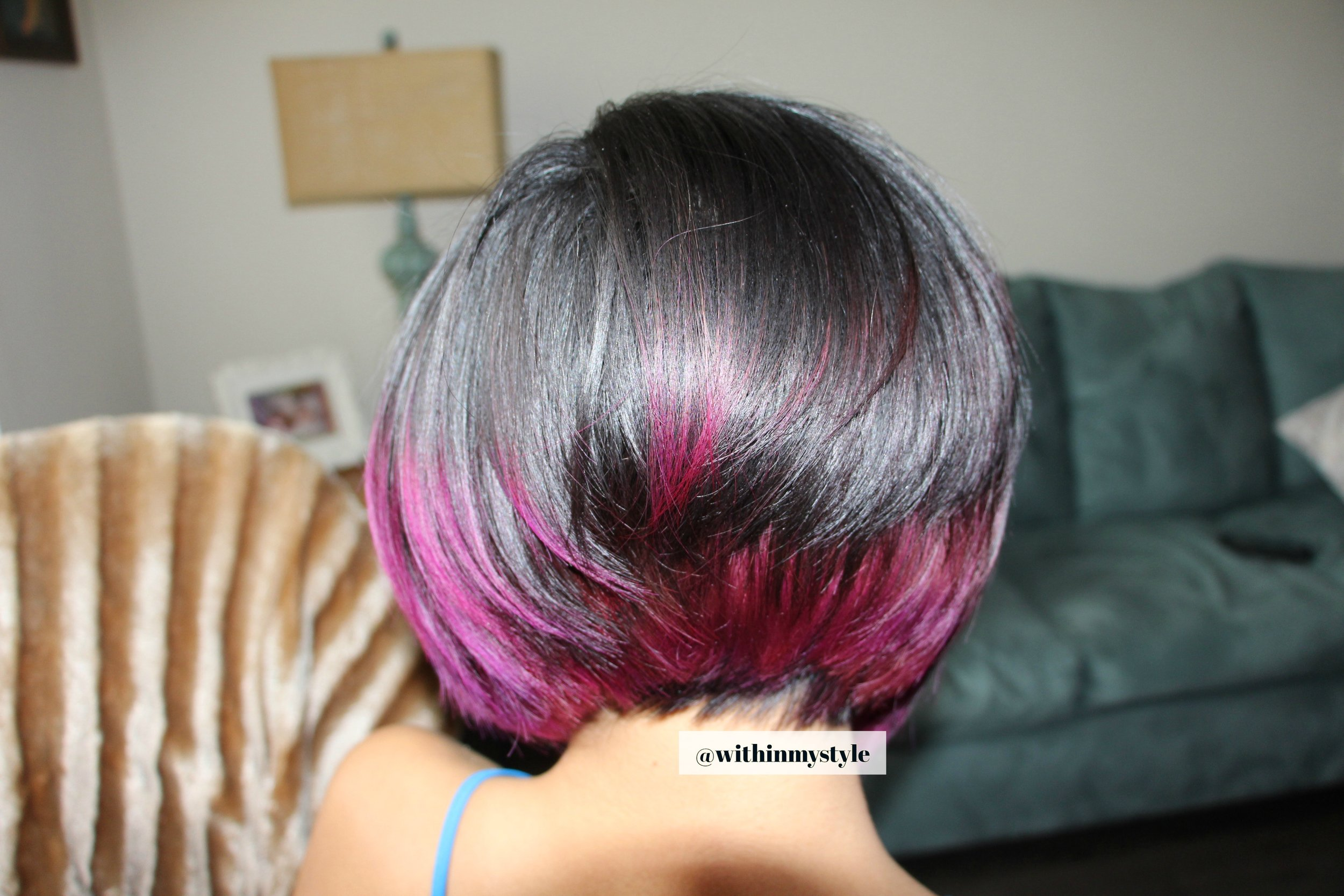 Have you ever seen treated hair look this shine?