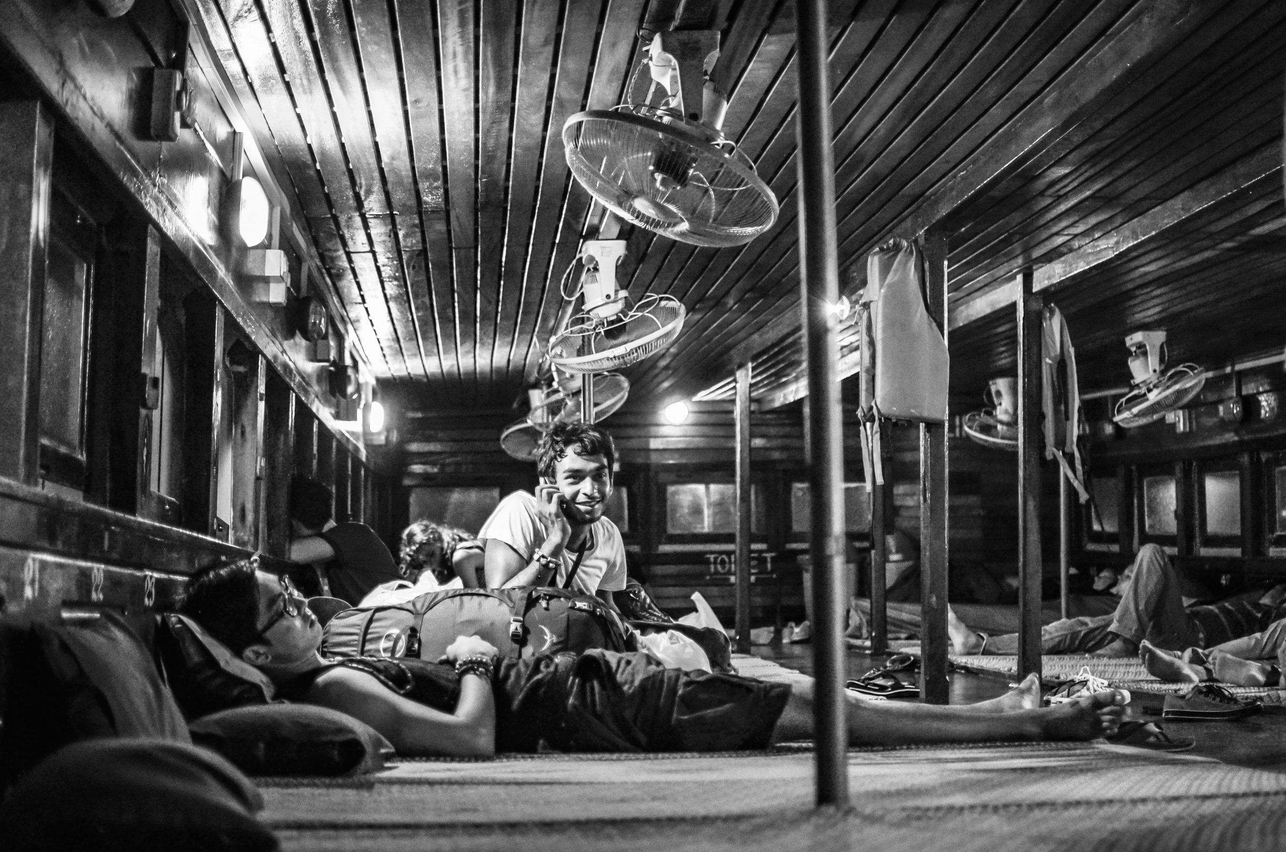 Night ferry in Koh Samui, Thailand