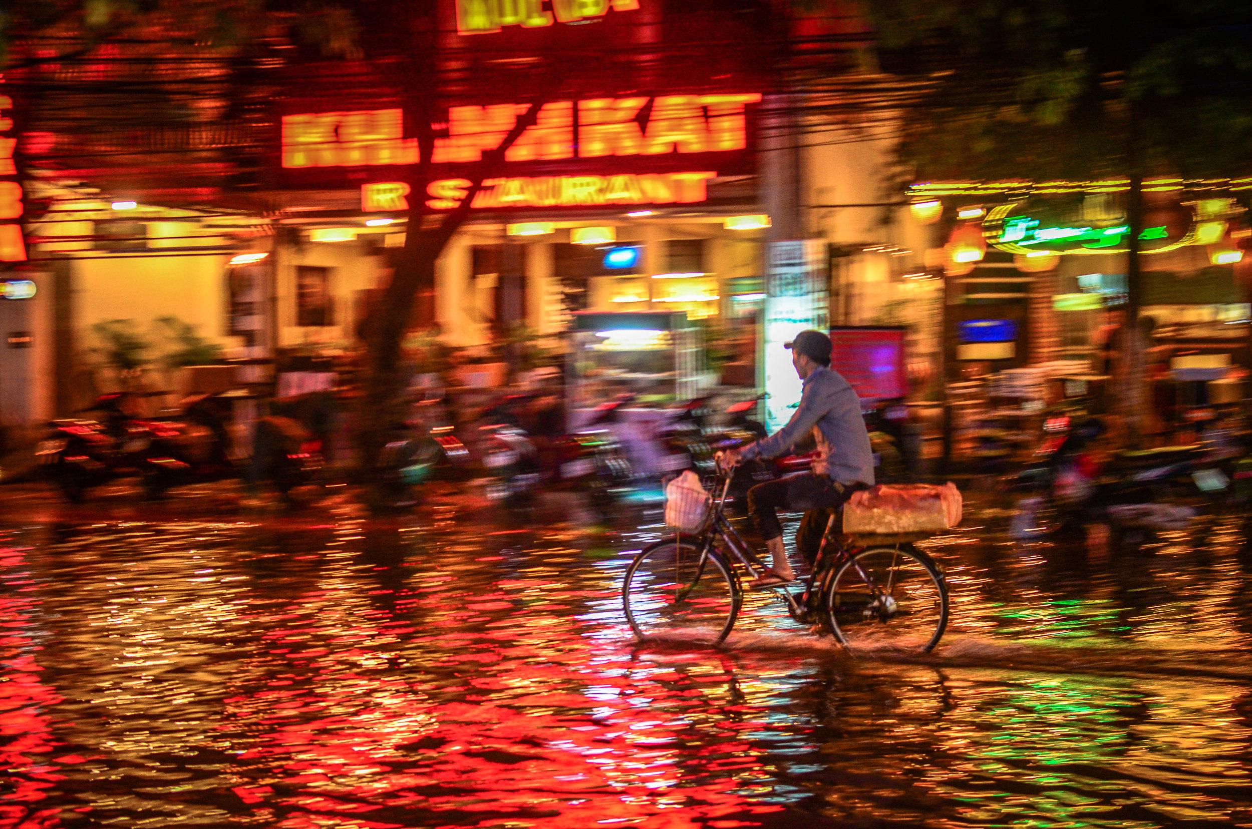 Bicycle in Nha Trang, Vietnam