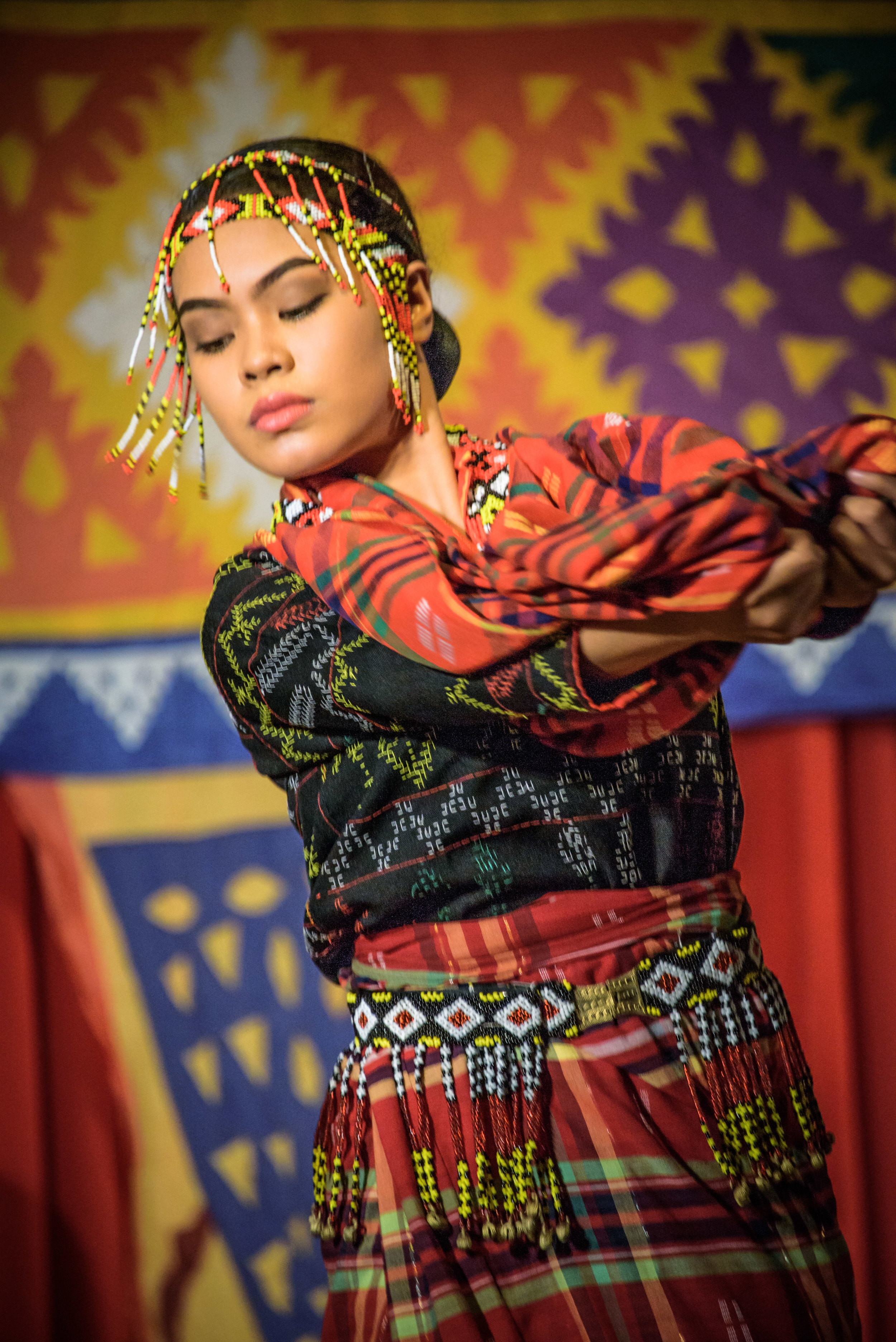 Kalinga traditional dress and dance, Philippines