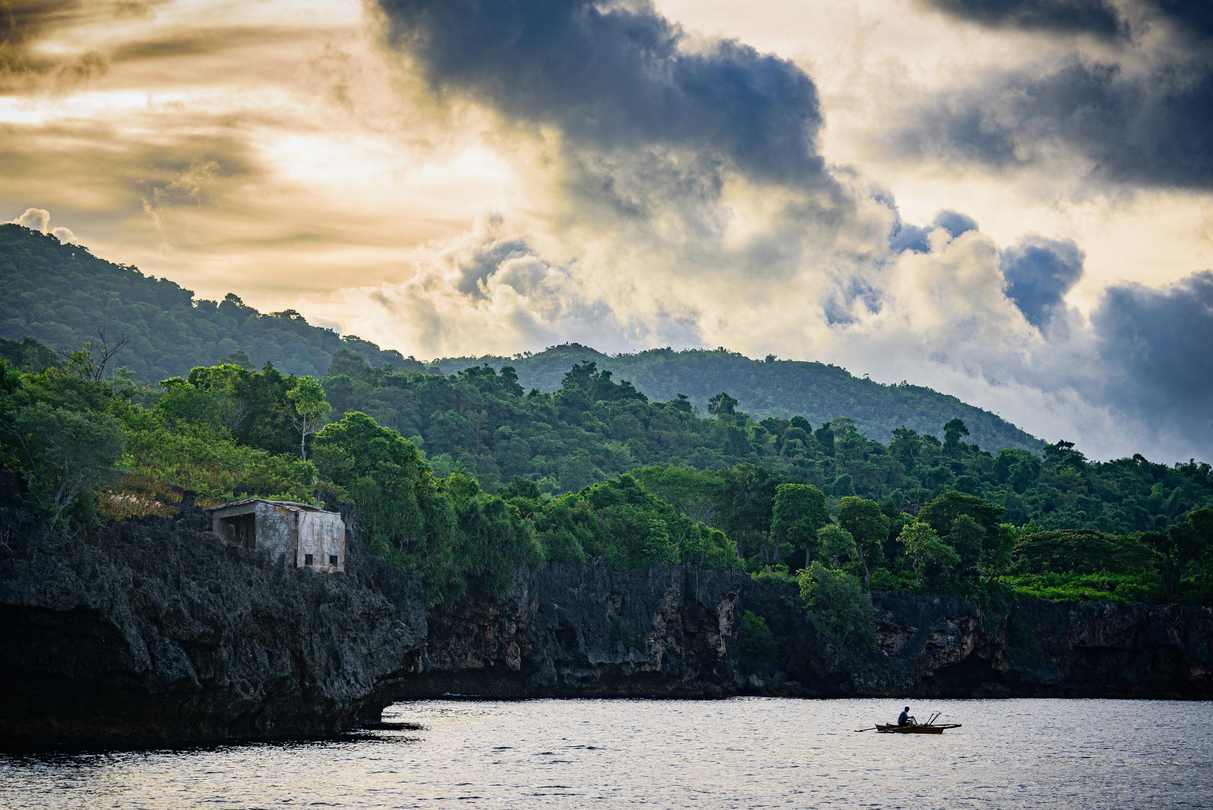 Sunrise over Siquijor Island, Philippines