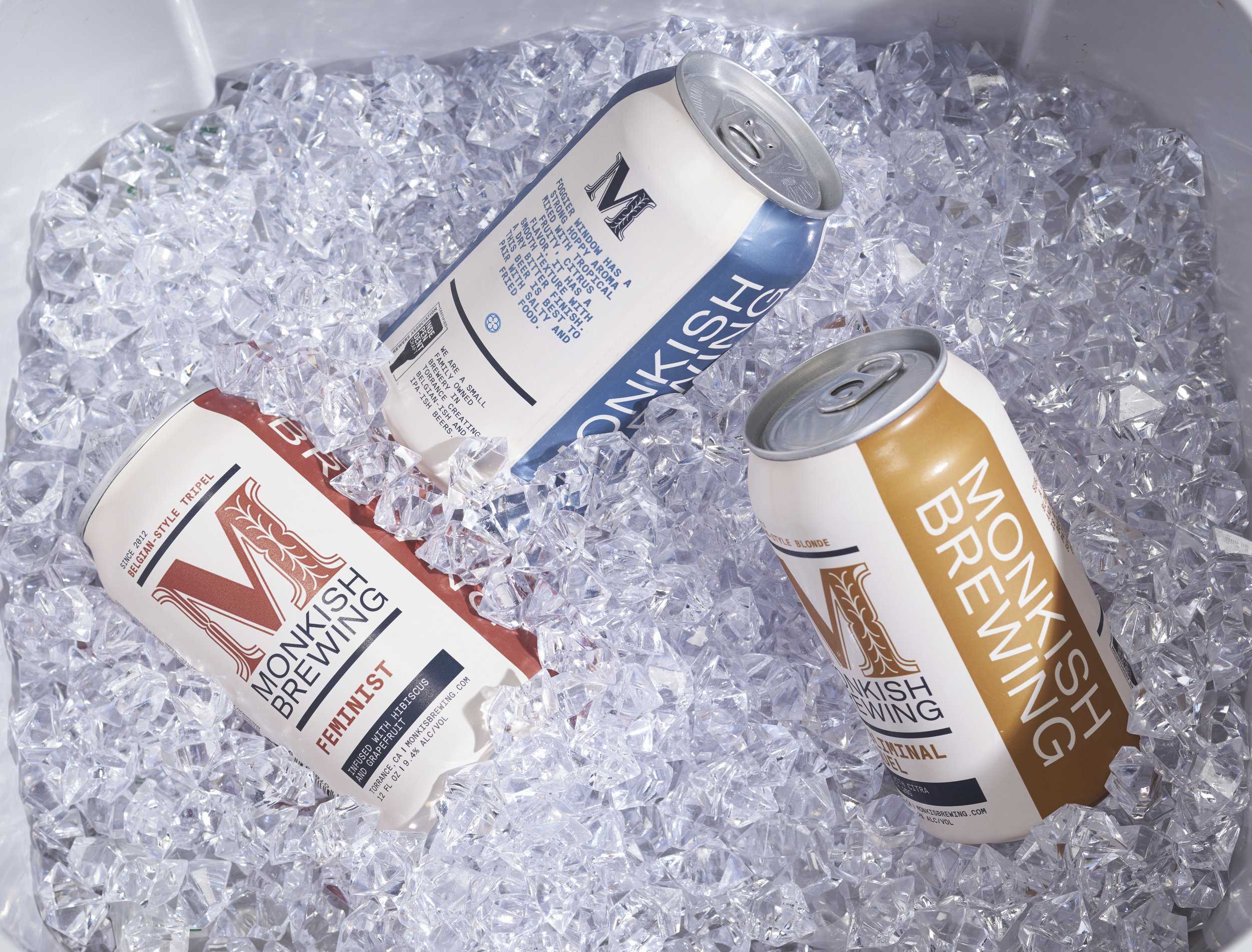 monkish brewery - Packaging and Branding