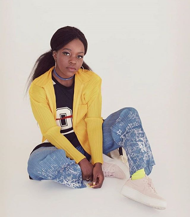 Flexin' 💥 new @nikesportswear x @oystermagazine shoot & interview with the unstoppable @tkaymaidza #TalkingNike #NikeSportswear