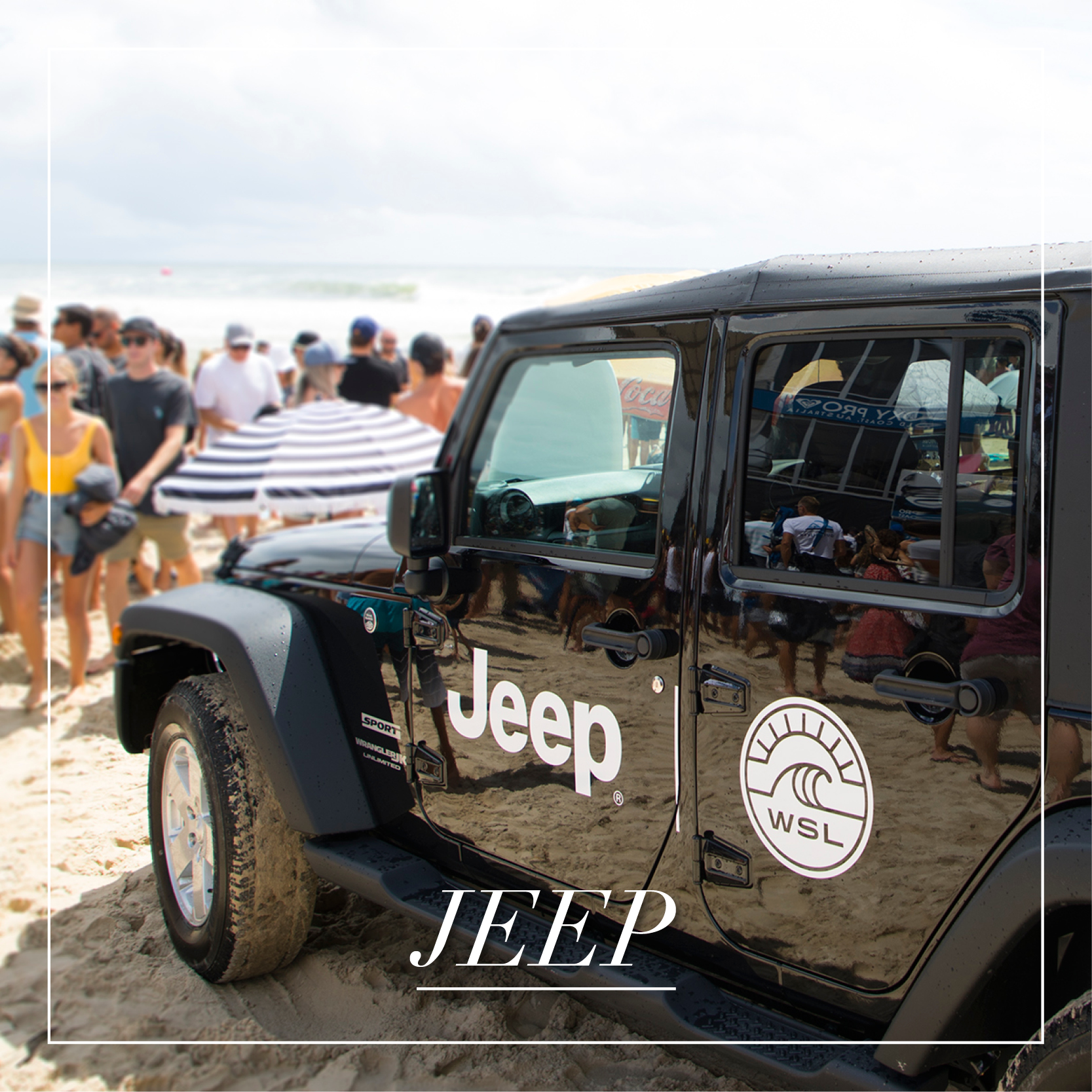 2018 WSL X JEEP COMPASS       Brief    Our brief was to celebrate the arrival in Australia of the Jeep Compass, an all-new compact SUV, focusing on its off-road driving experience, and leveraging Jeep's sponsorship of the World Surf League and competing Jeep-sponsored athletes, Tyler Wright, Jordy Smith and Malia Manuel.      Strategy    Our strategy centred upon creating a multi-day event bringing to life the Jeep Compass brand statement of 'Find Your True North'. Two Birds Talking identified and secured 16 media and lifestyle influencers, among them actor Harley Bonner and model Natalie Roser, and titles such as Women's Health, Body & Soul and The Tailored Man, giving them the opportunity to trial the all-new vehicles, off-roading at Evans Head & Airforce Beach along the QLD coastline. The experience also included private surf lessons, nature photography workshops and exclusive meet and greets with World Surf League athletes.     Results    Three month public relations campaign  8 traditional media placements including exclusive one-on-one interviews with Tyler Wright and Jordy Smith with Women's Health, Body & Soul, and Women's Fitness.  19 million+ social media eyeballs, from 172 posts overall coverage output exceeded KPI by 50%.