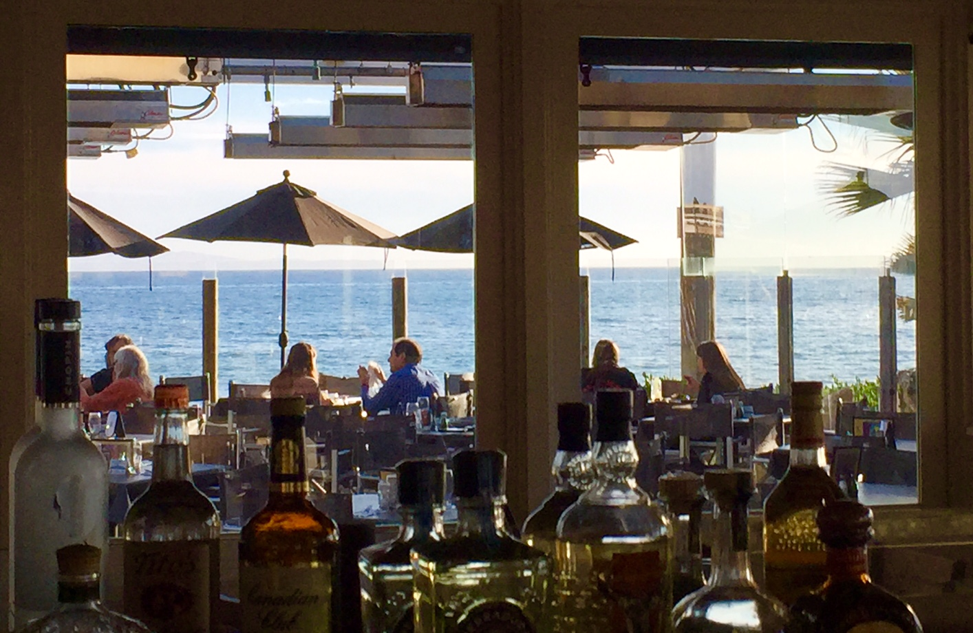 View of Goleta Beach and the Restaurant Patio