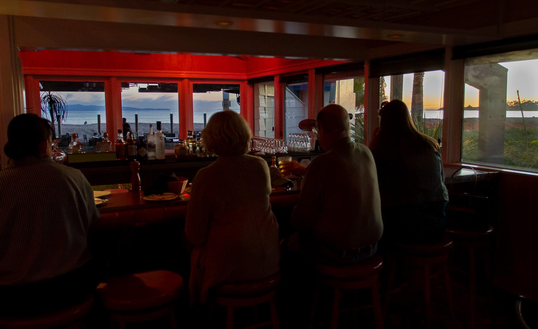 Beachside Bar Cafe on Goleta Beach in Santa Barbara