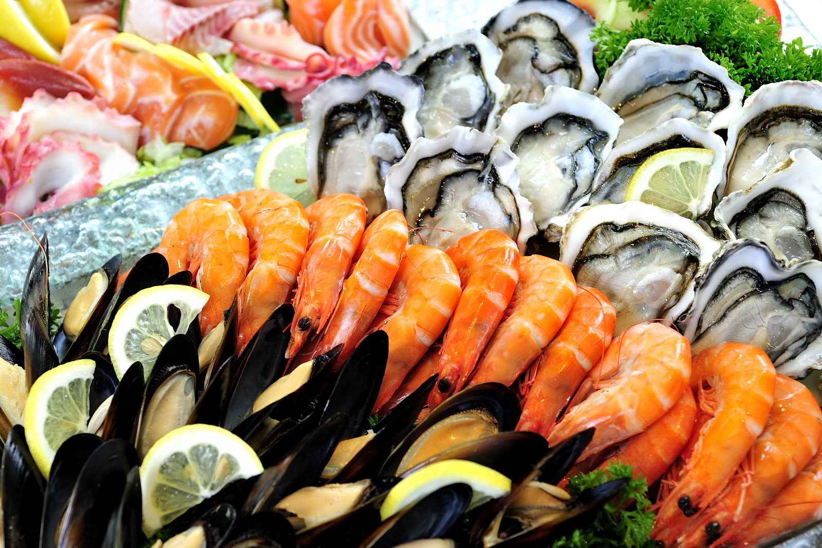 Seafood Platter Santa Barbara