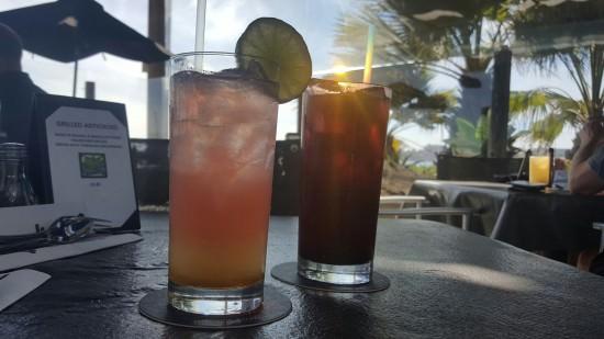 Cocktails at Beachside Bar Cafe