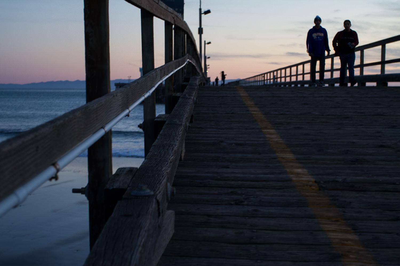 Pier at Goleta Beach