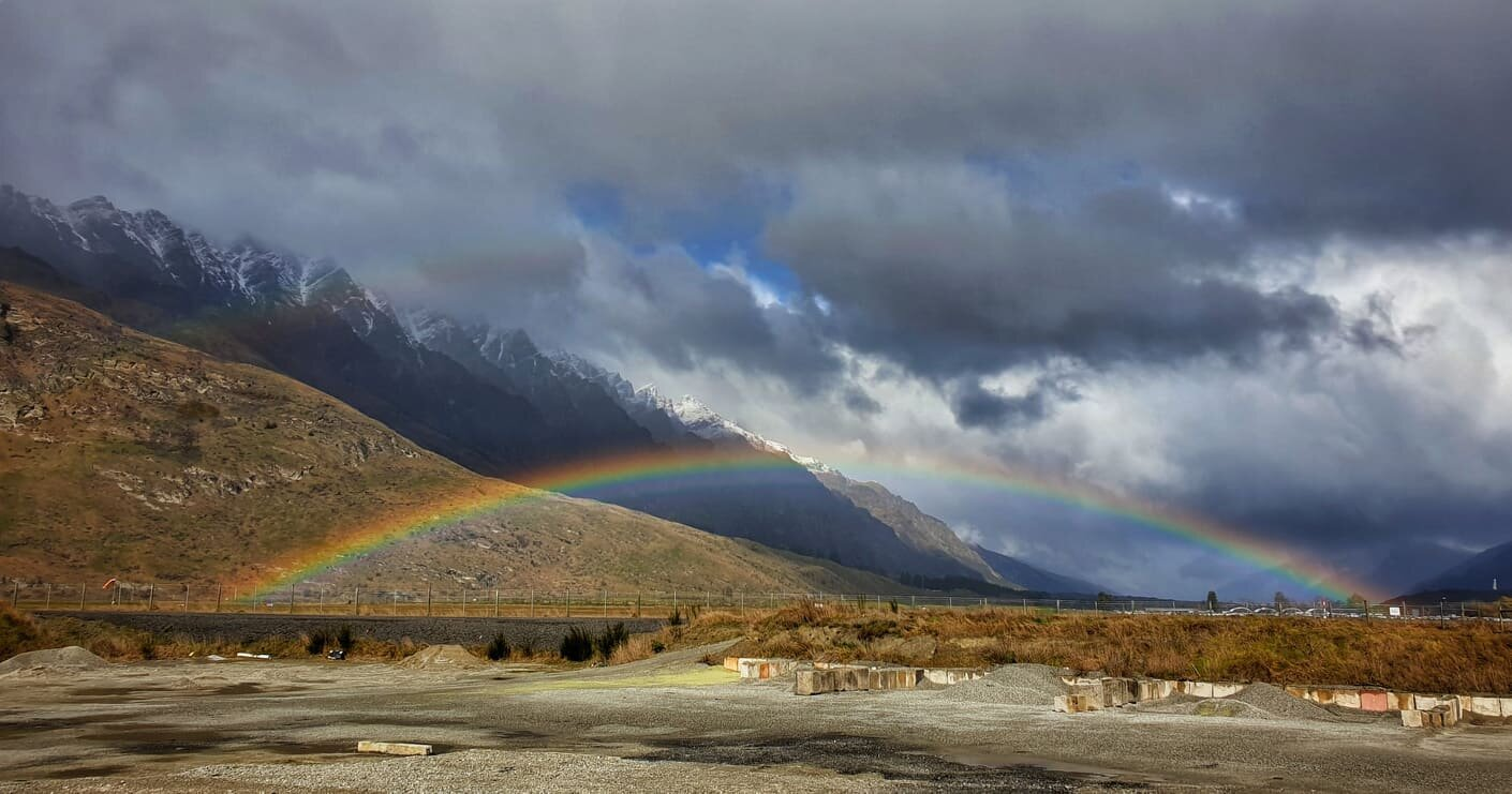 Rainbow over The Remarkables