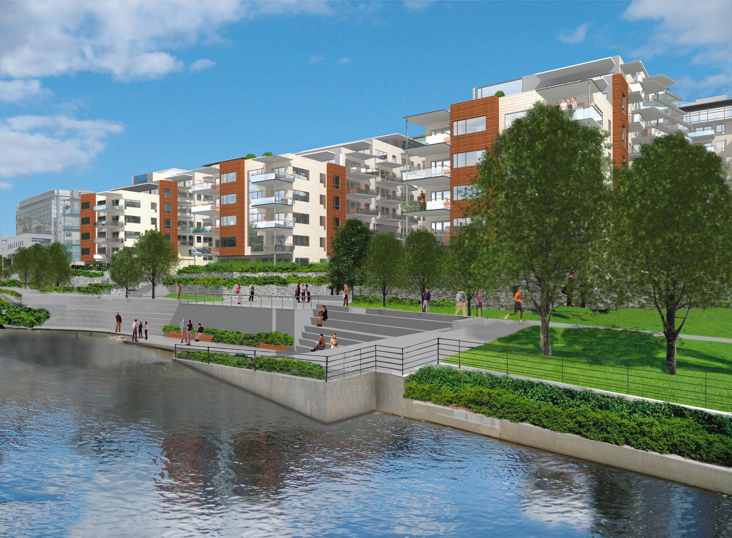 Solsiden boligprosjekt, Nydalen