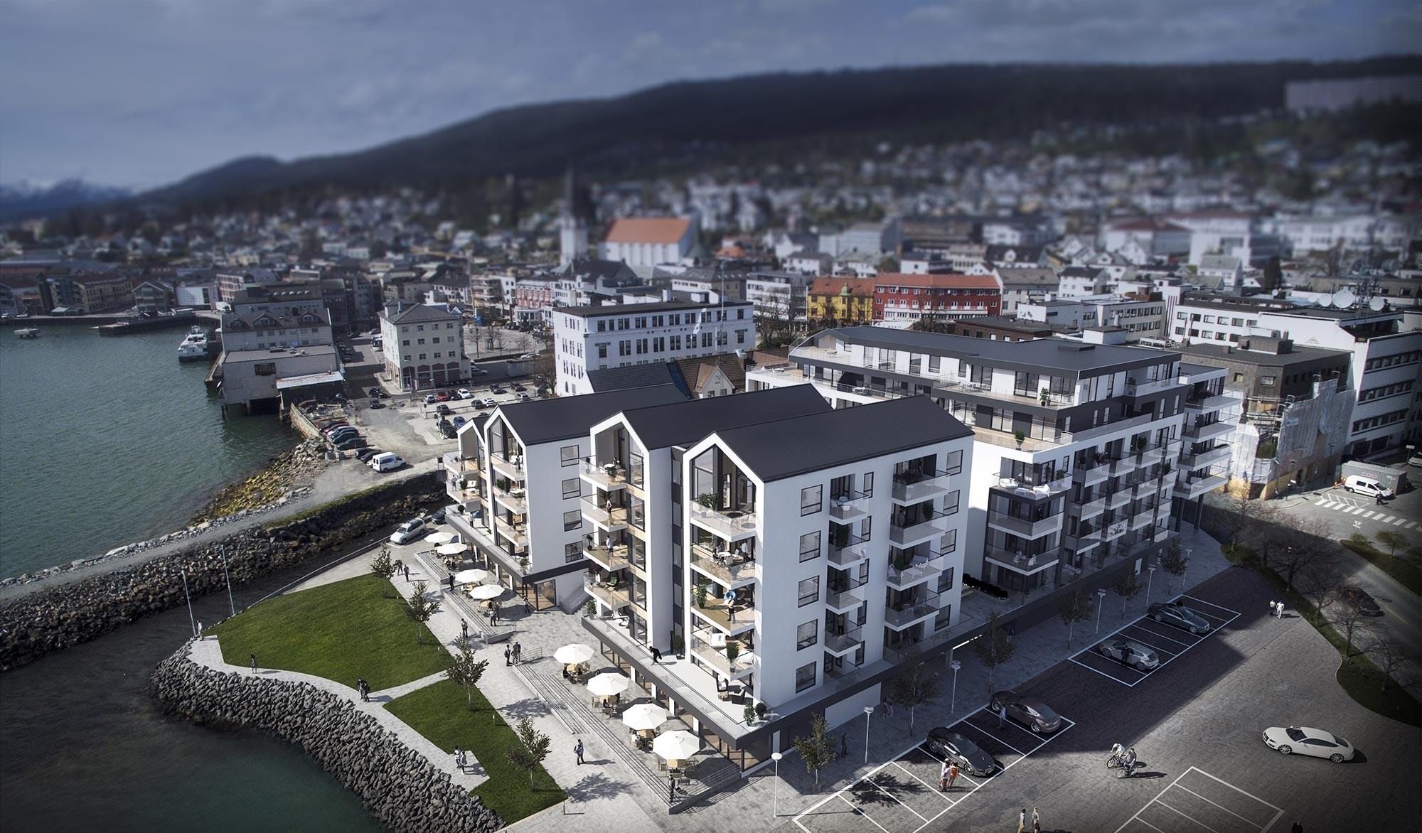 Brunvollkvartalet, Molde