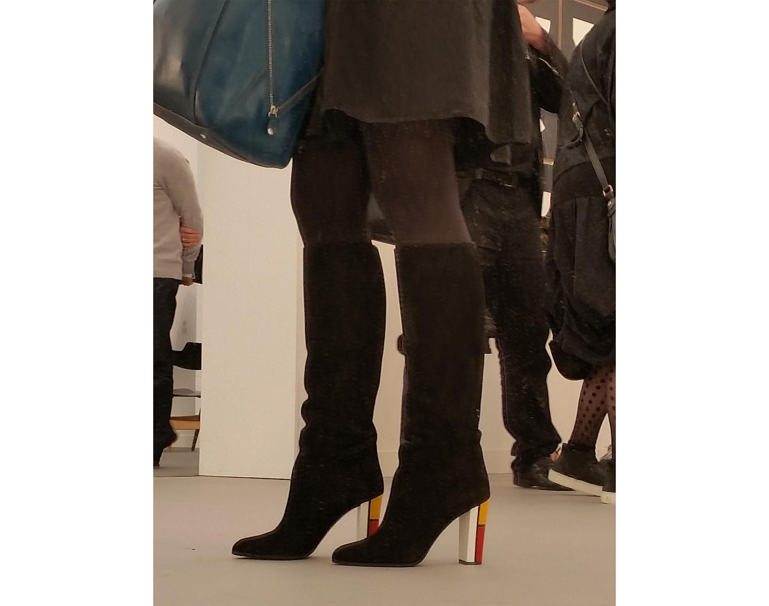 Mondrian boots at Frieze.jpg