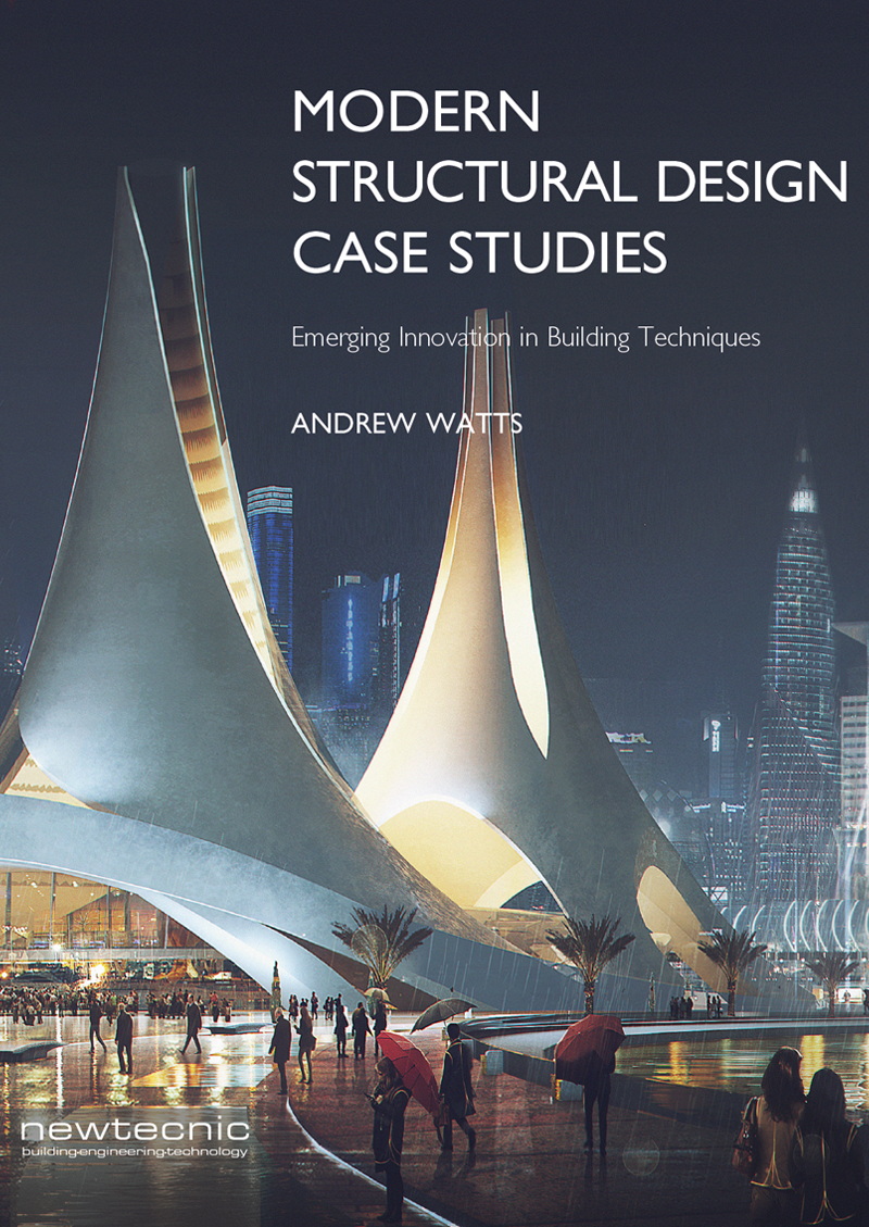 Modern Structural Design Case Studies , a companion to Modern Construction Case Studies, provides detailed insight into the structural engineering design process for 12 ambitious building projects, all developed by Newtecnic.