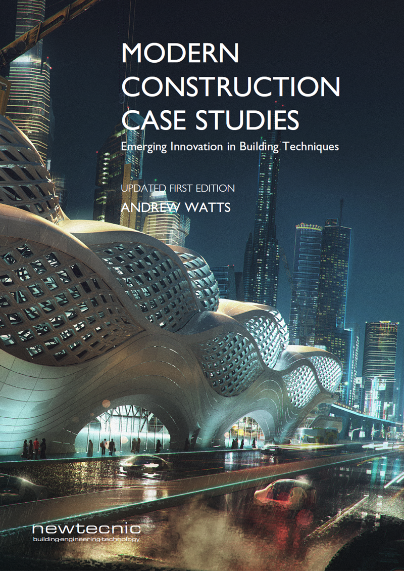 Modern Construction Case Studies, First Edition  focuses on the detailed technical design of 18 building projects, designed in collaboration between Newtecnic and internationally recognised architectural practices.