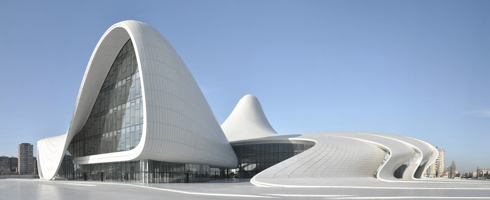 Heydar Aliyev Cultural Center ,  Baku ,  Azerbaijan