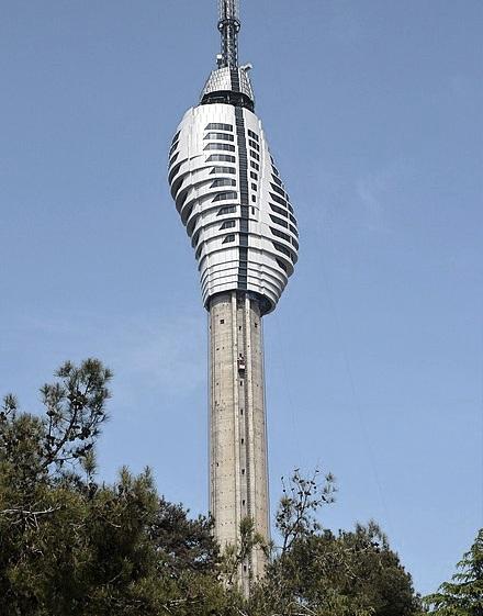 Küçük Çamlıca TV Radio Tower ,  Istanbul ,  Turkey