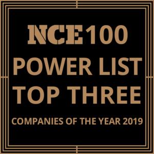 New Civil Engineer 's  Top 100 Power List