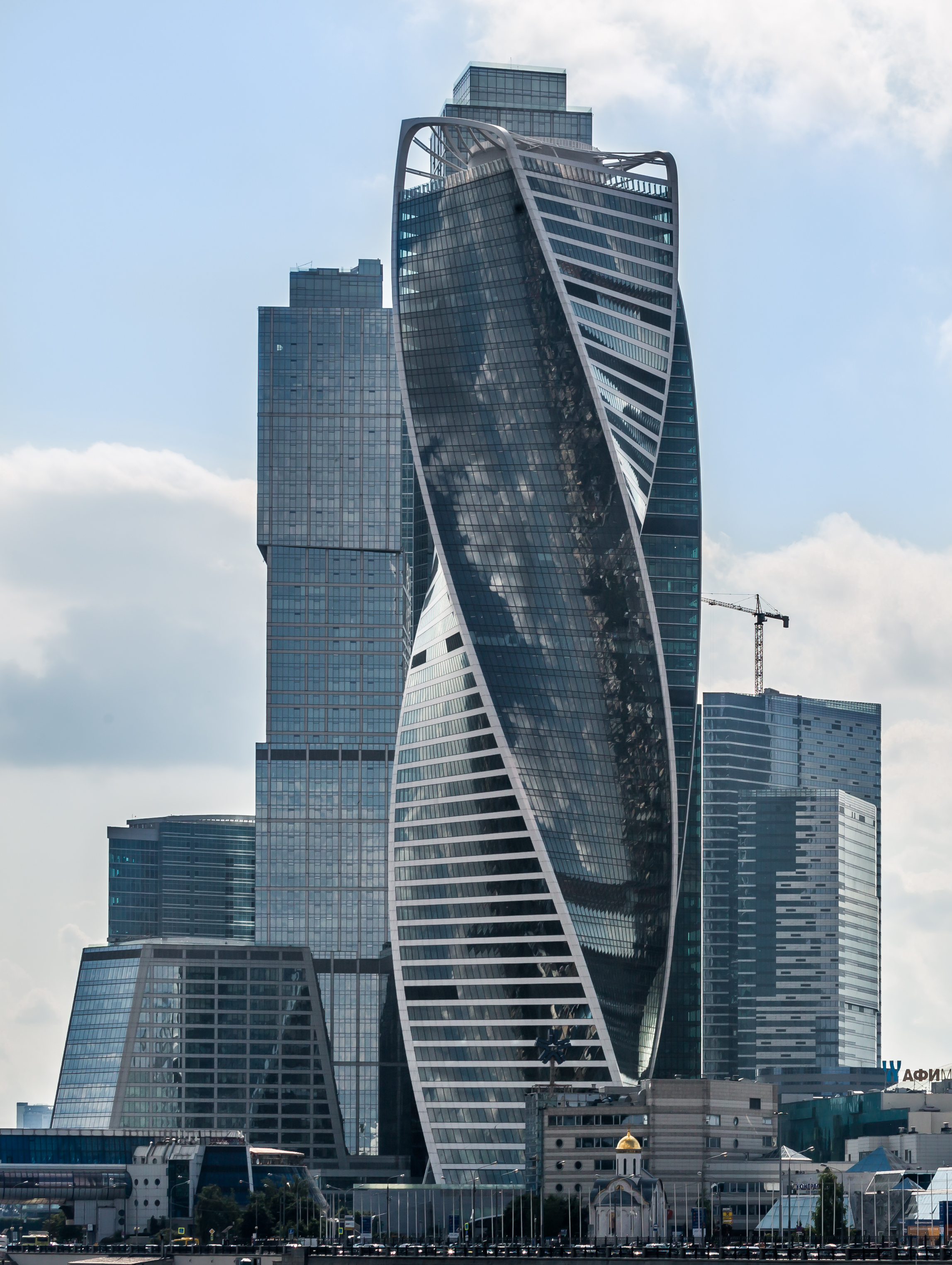 Evolution Tower ,  Moscow ,  Russia