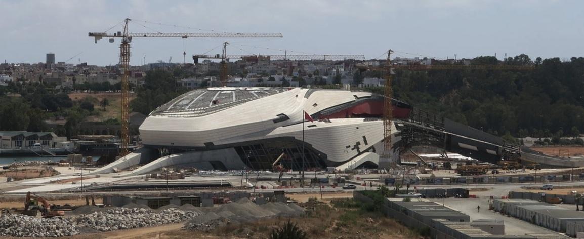 Grand Théâtre de Rabat ,  Rabat ,  Morocco