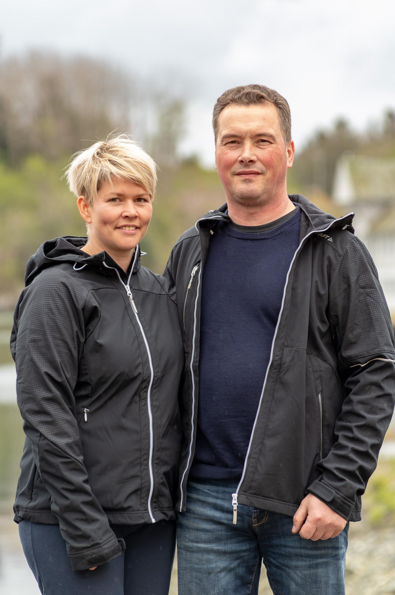 Margrethe og Bjarte Drange satser på drømmen.