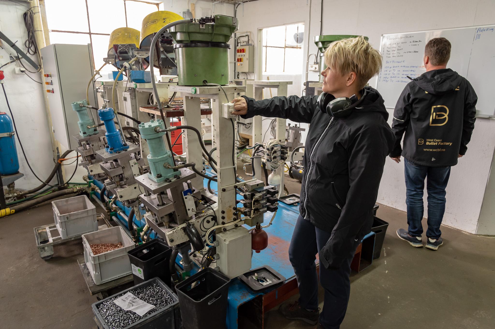 Moderne produksjon sikrer høy kvalitet i produksjonen.