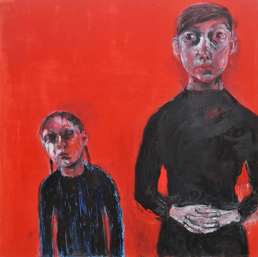 Red Ground II, 2014