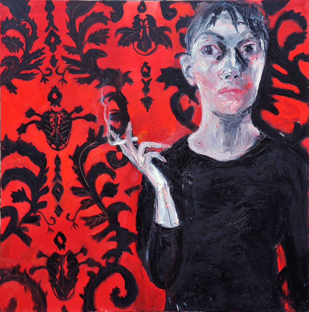 Woman Smoking, 2012