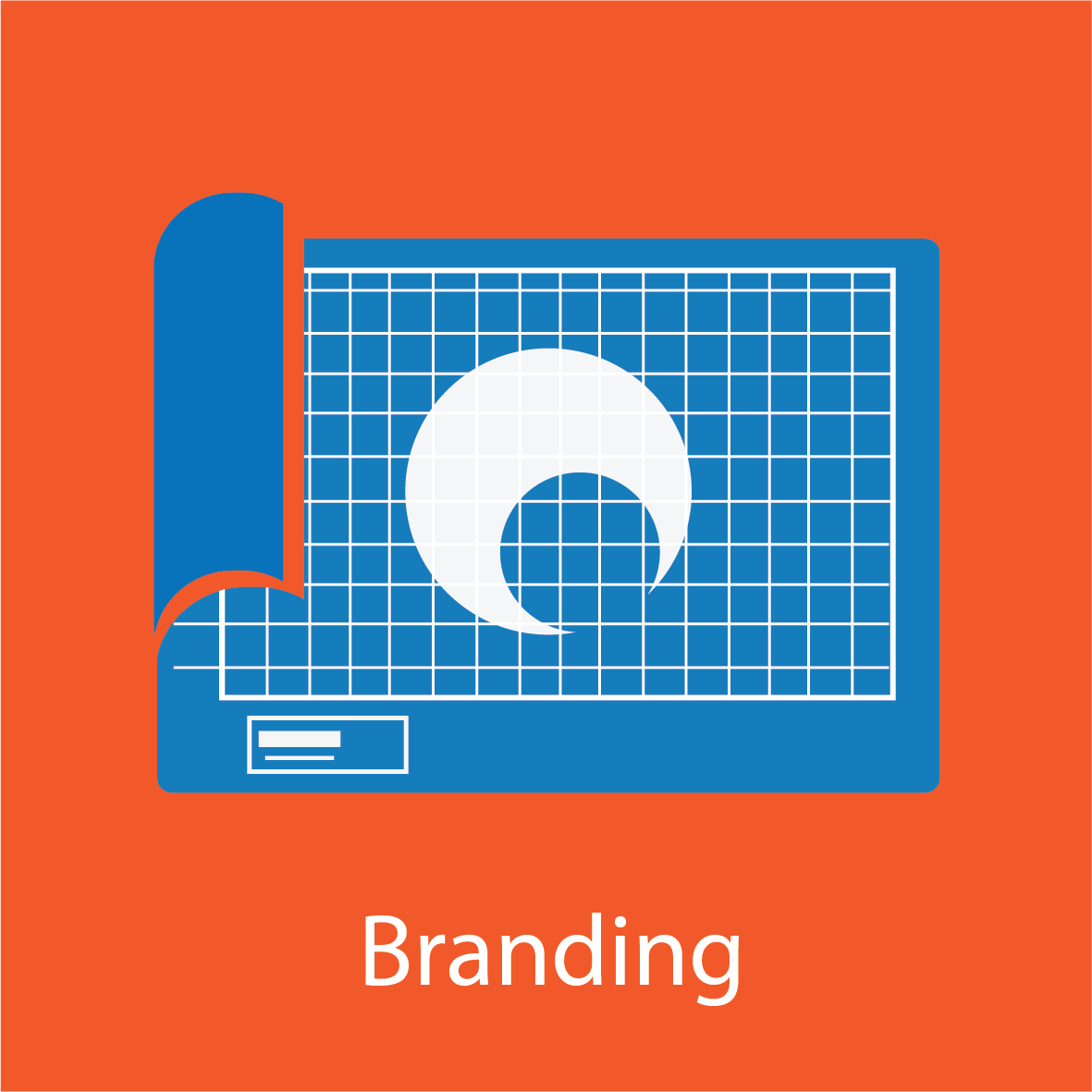 Blueprint graphic for Branding