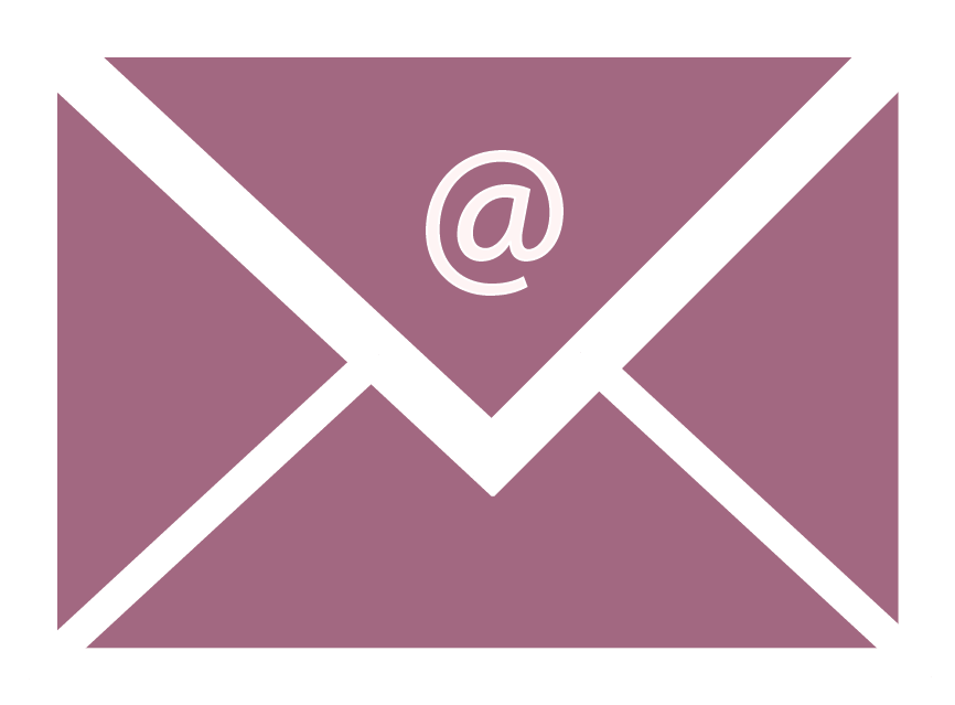 Email symbol on Business Coaching Sussex website