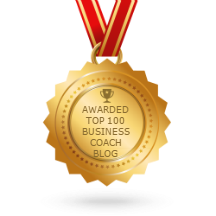 Voted Top 100 Business Coaching Blogger