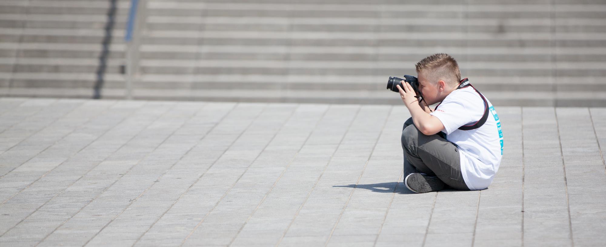 Fotografieworkshop aan zee.