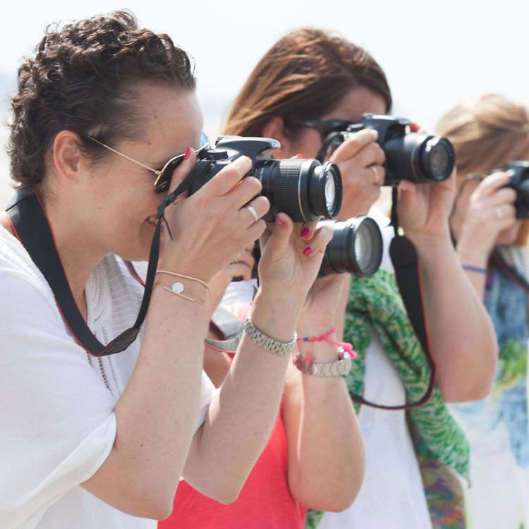 Cursus fotografie voor volwassenen.
