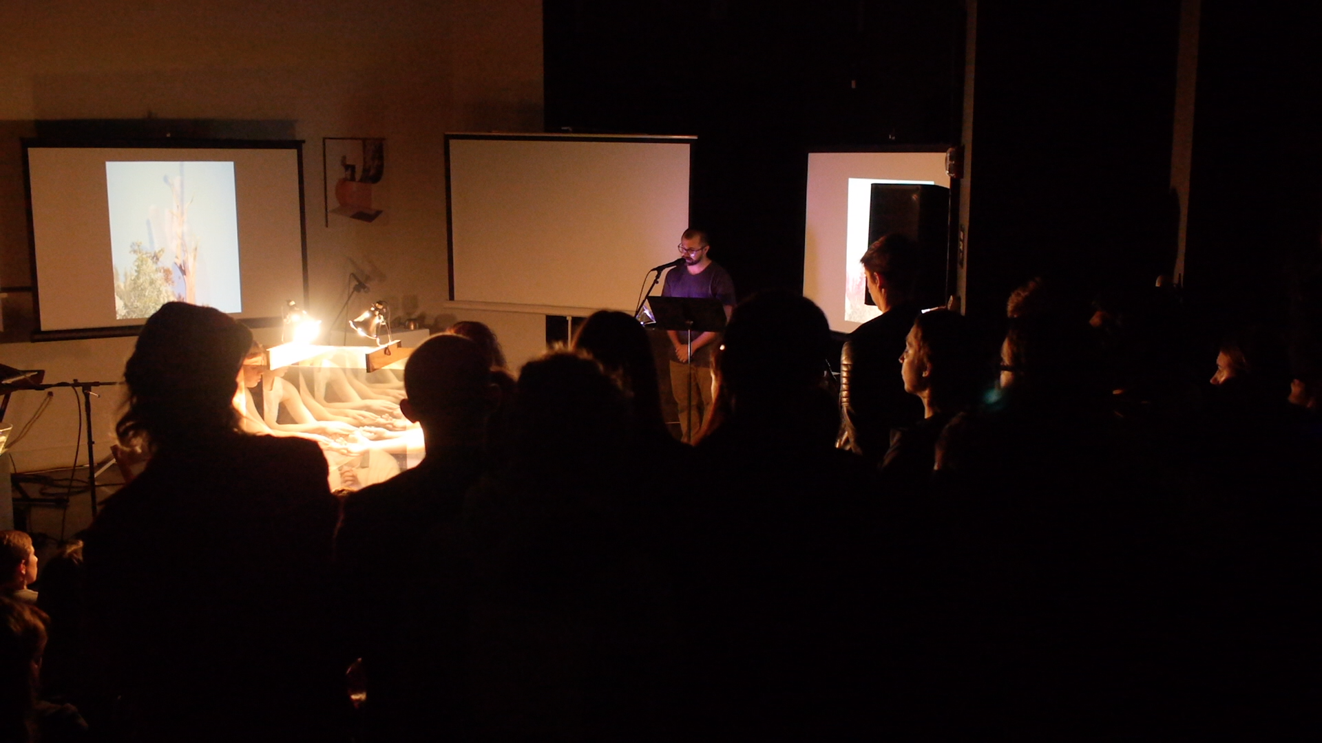 Performance Still with MOCREP Pro Arts Gallery Oakland, CA 27 April 2018