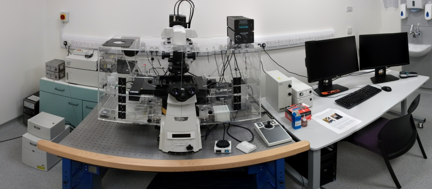 We run the Institute's advanced microscopy facility.